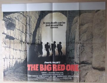 Big Red One, Original UK Quad Poster, Lee Marvin, Mark Hamill, Classic WAR, '80
